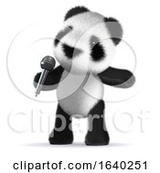3d Panda Sings by Steve Young