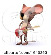 3d Mouse Guitarist by Steve Young