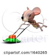 3d Lawnmower Runs Away With Mouse by Steve Young