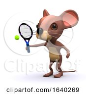 3d Tennis Mouse by Steve Young