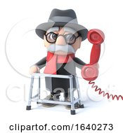 3d Grandpa Makes A Phone Call