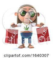 3d Stoner Hippie Has Been To The Sales