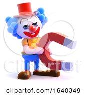 3d Clown Magnet