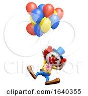 3d Clown Floating