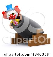 3d Clown Cannon