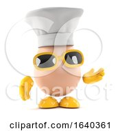 Poster, Art Print Of 3d Egg Chef