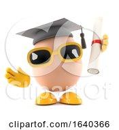 Poster, Art Print Of 3d Egg Graduate