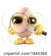 Poster, Art Print Of 3d Egg Magnifies