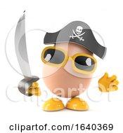 Poster, Art Print Of 3d Pirate Egg