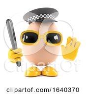 3d Egg Police