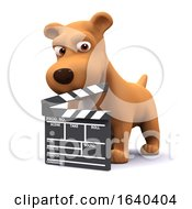 Poster, Art Print Of 3d Movie Dog