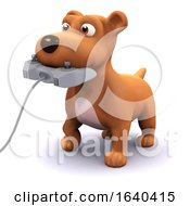3d Gamer Puppy by Steve Young