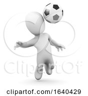 3d Little Man Plays Football