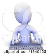3d Keyboard Man