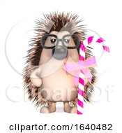 3d Hedgehog Has Candy by Steve Young