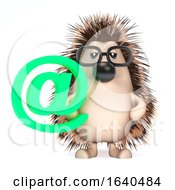 3d Hedgehog Has An Email Address by Steve Young