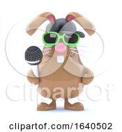 3d Easter Bunny Rapper