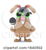 3d Easter Bunny Rapper by Steve Young