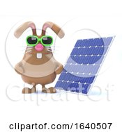 3d Solar Bunny by Steve Young