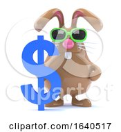 Poster, Art Print Of 3d Dollar Bunny