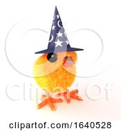 Poster, Art Print Of 3d Easter Chick Wizard