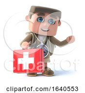 3d Hiker Carries First Aid