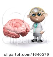 3d Doctor With Brain by Steve Young