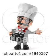 3d Funny Cartoon Italian Pizza Chef Character Makes A Movie by Steve Young