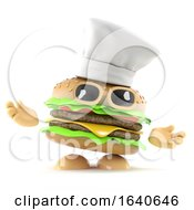 3d Burger Chef by Steve Young