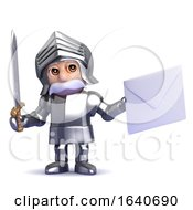 3d Knight Mail by Steve Young