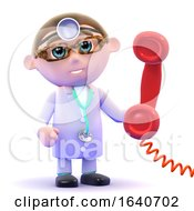 3d Doctor On The Phone