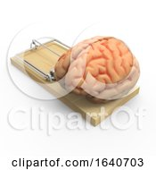 3d Brain In A Mousetrap