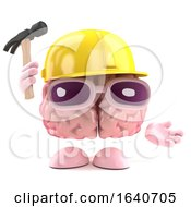 Poster, Art Print Of 3d Brain Builder