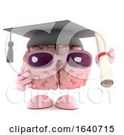 3d Graduate Brain by Steve Young