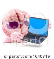 3d Brain Laptop by Steve Young