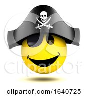 3d Smiley Pirate by Steve Young