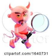 3d Devil Magnifier by Steve Young