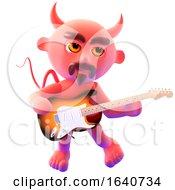 3d Devil Guitarist by Steve Young
