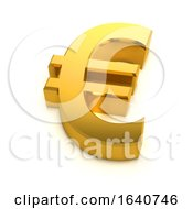 3d Golden Euro Symbol by Steve Young