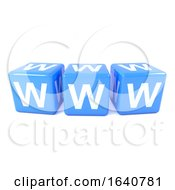 3d World Wide Web Dice