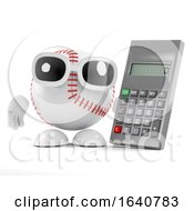 3d Baseball Has A Calculator