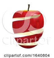 3d Apple Peeling
