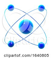 3d Atom With Protons In Quantum Physics