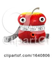 3d Apple Is Measured