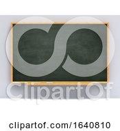 3d Blank Blackboard