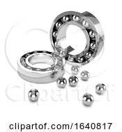 3d Chrome Bearings Disassembled