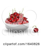 3d One Fell Out Of The Bowl Of Cherries