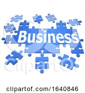 Poster, Art Print Of 3d Business Jisaw Puzzle