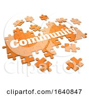 Poster, Art Print Of 3d Community Jigsaw Puzzle