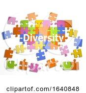 Poster, Art Print Of 3d Diversity Jigsaw